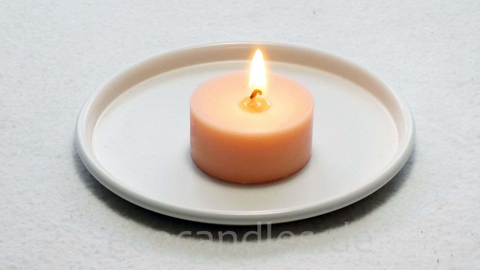 Foto von Recycled-Tea-candle small without alu-shell